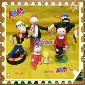 Personajes De Pasta Infantiles Porcelana Fria Pasta Flexible