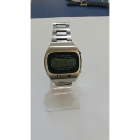 efbec326d0c Relógio Citizen Cryston Alarm Digital Antigo Anos 80 Raro
