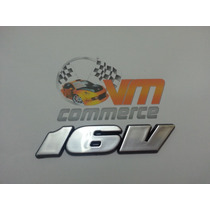 Emblema 16v Escovado Gol Parati Saveiro Golf