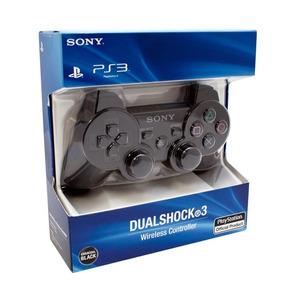 Kit 2 Controle Dualshock Ps3 Playstation 100% Original Sony