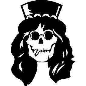 Adesivo Guns And Roses - Slash - Decoração, Parede Macbook