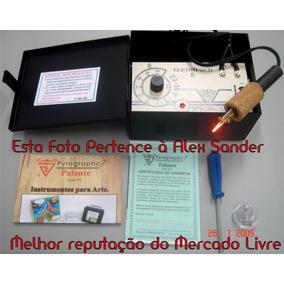 Pirógrafo Profissional Am-12 Temperatura Eletrônica - Bivolt