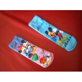 Meias Para Bebês - Mickey E Minnie