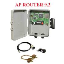 Provedor Ap Router 9.3 + Fonte Poe + Pigtail Sem Antena