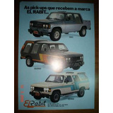 Folder El Rabit A20 D20 F1000 Pickup Caminhonete Gm Ford