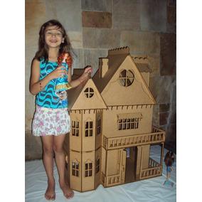Kit Casa De Boneca Barbie + Moveis Completo Barbie Emily Cr