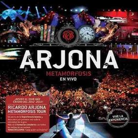 Ricardo Arjona Metamorfosis En Vivo 2 Cd + Dvd Los Chiquibum