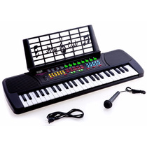 Keys Electronic Piano Music Keyboard Black Envio Gratis