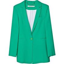 Maria Cher Saco Modelo Noyo Color Verde
