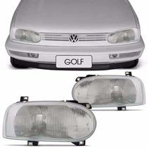 Farol Golf Mexicano 95 96 97 98 Glx Gti Antigo Foco Simples