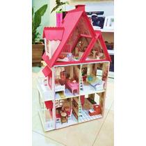 Casa De Boneca Pintura Casinha Polly Mirian Cor Sonhos