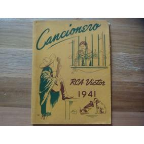 Antiguo Cancionero De La Rca Victor Año De 1941