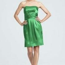 Lilasori Vestido De Coctel Color Verde Talla 9 Davids Bridal