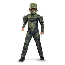 Disfraz Infantil Importado De Halo