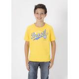 Camiseta Cbf Brasil - Infantil - Copa 2014 - Lançamento !!!