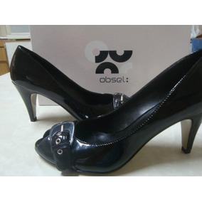 Sapato Da Marca Obsel Italiano Nº 36 Novo Na Caixa