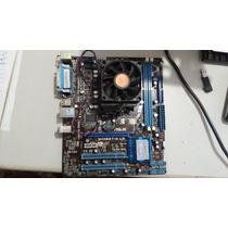 Kit Amd Athlon Ii X3 2.7ghz 425 + Placa Asus M4n68t-m Le 4gb