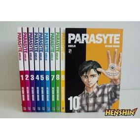 Mangá - Parasyte - Volumes 1 Ao 10 Coleção Completa