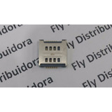 Leitor Chip Sim Card Lg Optimus L5 E615 E615f Conector Slot