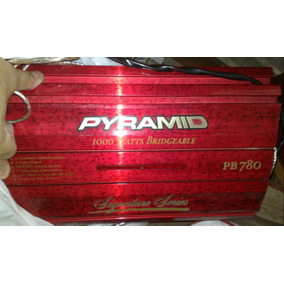 Módulo Amplificador Pyramid Pb780 1000w Fuçado Turbinado