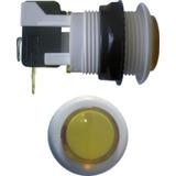 Botão De Comando Liga Desliga Power Chave (amarelo)