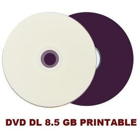 50 Dvd +r Printable Umedisc Dual Layer 8.5gb Xgd3