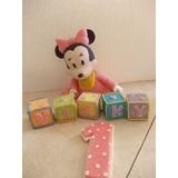 Disney Bebe Mickey Y Minnie En Porcelana Fria Para Tu Torta