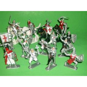 Medievais Cavaleiros Cruzados - Bmc Toys - Brinqtoys