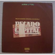 Lp Novela Pecado Capital - Nacional - Som Livre - 1975