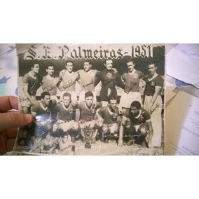 Foto Original Palmeiras Campeão Do Mundo!