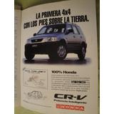 Publicidad Honda Cr-v Año 1997