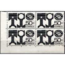2746 Exporta 4° E F A 1 Imp Grues Block 4 50c Mint N H 1982