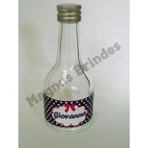 Mini Garrafinha Champagne Vidro 50ml Personalizada -100 Unid