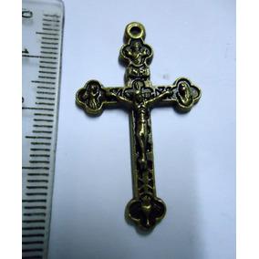 Crucifixo Cobreado - Roma Itália Papa João Paulo I I 70/80