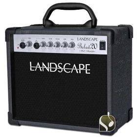 Cubo Amplificador Landscape Para Violão Eco Delay Balad20