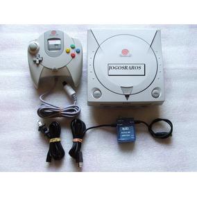 Dreamcast + Memory Card + Cabo A/v + Controle E Garantia!!