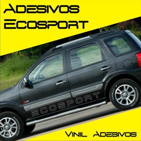 Kit De Adesivos Ecosport Faixas Laterais