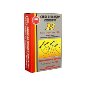 Jogo Cabo Vela Igniçao Ngk Renaut Clio Kangoo Logan 1.0 16v