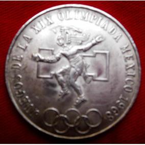Moeda Antiga Do Mexico - Olimpiadas 1968