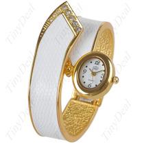 Relógio Bracelete Aço Inoxidavel