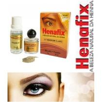 Kit Henna Profissional Sobrancelhas Todas As 7 Cores Henafix