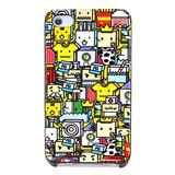 Capa Para Iphone 4 / 4s - Desenhos - Colorida - Importada
