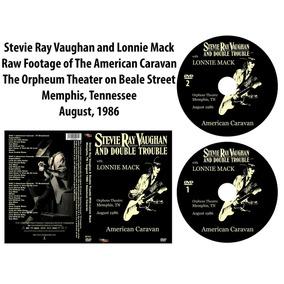 Dvd Stevie Ray Vaughan And Lonnie Mack-the American Caravan