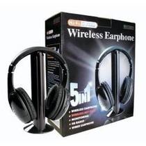 Menor Preço Fone De Ouvido Sem Fio 5 In 1 Mh2001 Wireless
