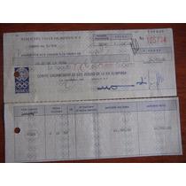 Cheque Del Comité Organizador De Los Juegos Olímpicos 1968