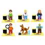 Scooby Doo Sw1 Vilma Shaggy Fred Daphne Compatible Con Lego