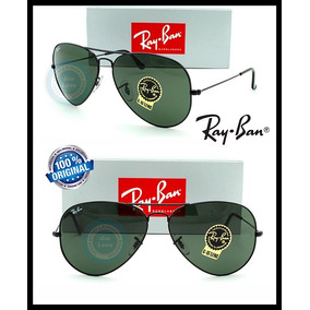Ray Ban Aviator Gota Grande Rb 3026 - L2821 Black Metal G-15