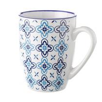 Taza Mug Azul Stoneware 375 Ml