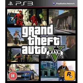 Grand Theft Auto V Gta Ps3 Psn Envio Digital Imediato