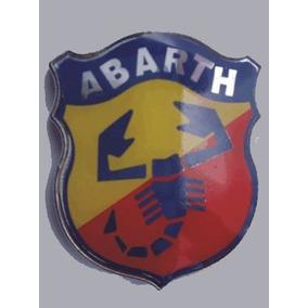 Emblema Escudo Abarth - Fiat Stilo- Vm Commerce